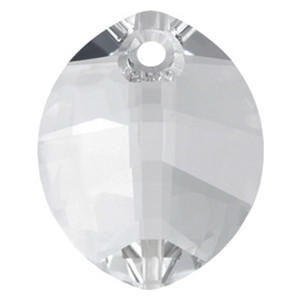 Swarovski Crystal Pendants - 6734 - Pure Leaf - 23mm