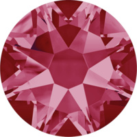 2088 - SS20 (4.60 - 4.80mm) - Indian Pink F (289) - Xirius Rose Non Hot Fix Flat Back Crystal
