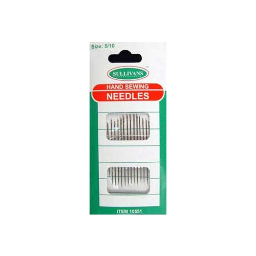 Hand Sewing Needles Sizes 5/10 - Pack of 20