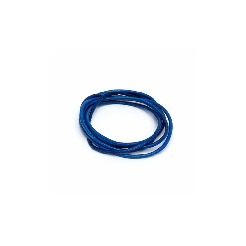 Dark Blue 2mm Leather Cord - 1m Pack