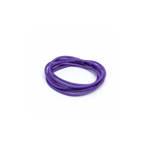 Lilac 2mm Leather Cord - 1m Pack