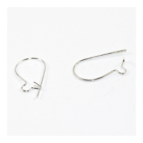 Kidney Wire - Small - Pair - Silver