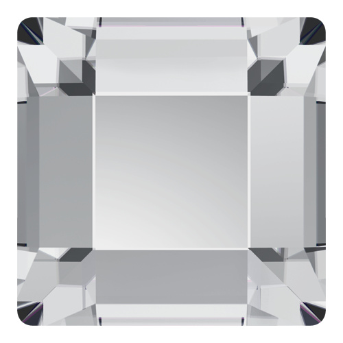 2400 - 4mm - Crystal M HF (001) - Square Hot Fix Flat Back Crystal