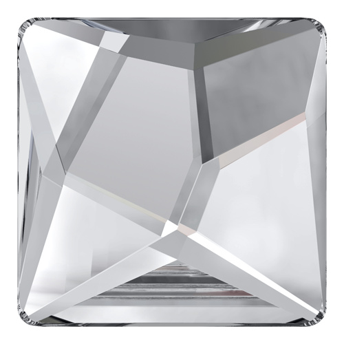 2420 - 25mm - Crystal F (001) - Asymmetric Square No Hot Fix Flat Back Crystal