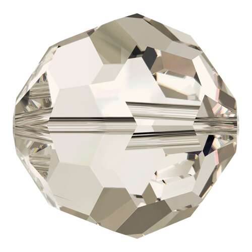 5000 - 2mm - Crystal Silver Shade (001 SSHA) - Round Crystal Bead