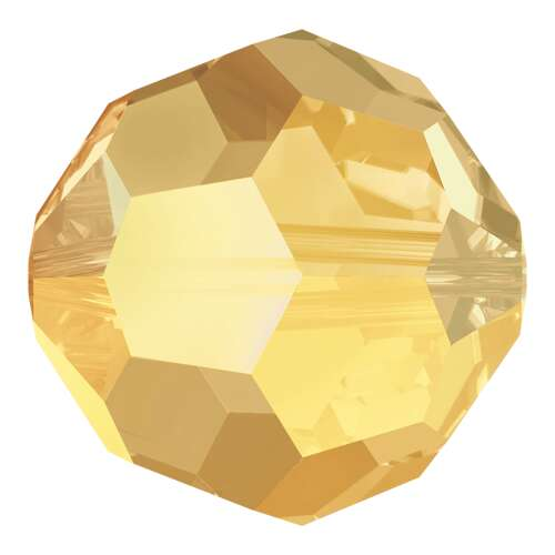 5000 - 10mm - Crystal Metallic Sunshine (001 METSH) - Round Crystal Bead