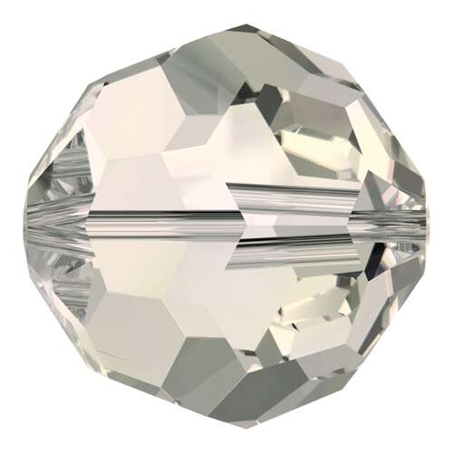 5000 - 10mm - Crystal Moonlight (001 MOL) - Round Crystal Bead