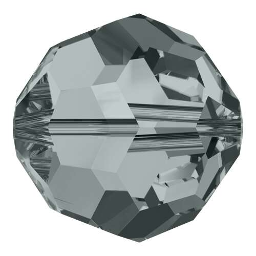 5000 - 10mm - Black Diamond (215) - Round Crystal Bead