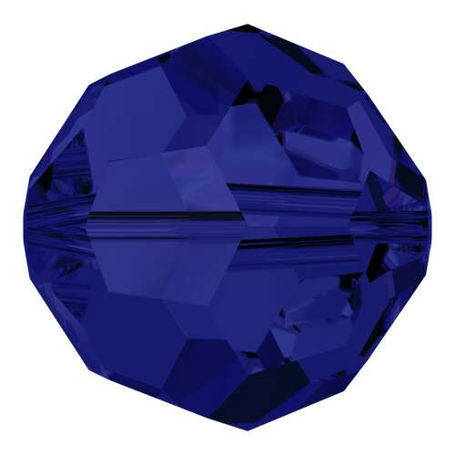 5000 - 10mm - Dark Indigo (288) - Round Crystal Bead