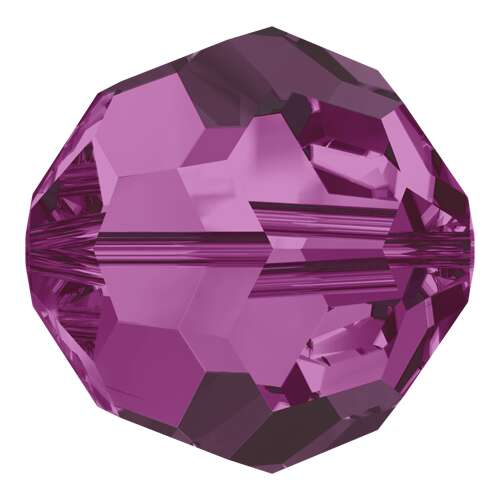 5000 - 10mm - Fuchsia (502) - Round Crystal Bead