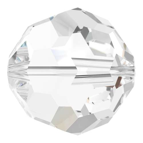 5000 - 20mm - Crystal (001) - Round Crystal Bead