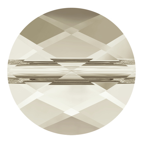 5052 - 6mm - Crystal Silver Shade (001 SSHA) - Mini Round Crystal Bead