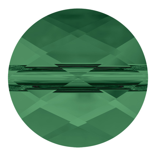 5052 - 8mm - Emerald (205) - Mini Round Crystal Bead