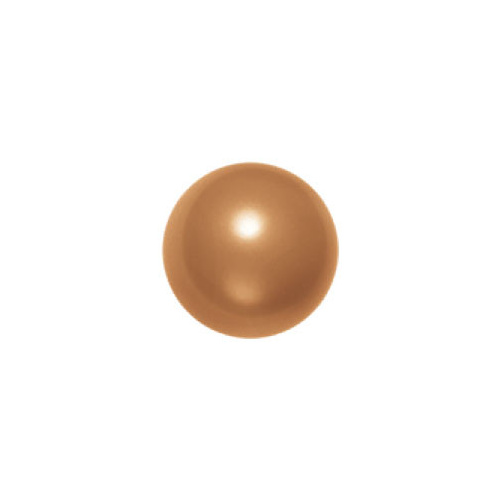5810 - 10mm - Crystal Copper Pearl (001 159) - Round Crystal Pearls - Discontinued