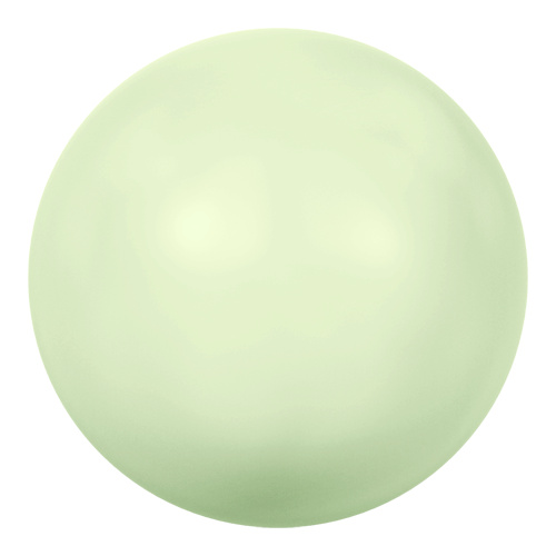 5810 - 10mm - Crystal Pastel Green Pearl (001 967) - Round Crystal Pearls