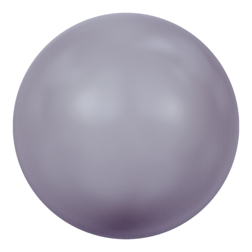 5811 - 10mm - Crystal Mauve Pearl (001 160) - Round (Large Hole) Crystal Pearl