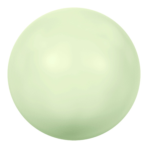 5811 - 10mm - Crystal Pastel Green Pearl (001 967) - Round (Large Hole) Crystal Pearl