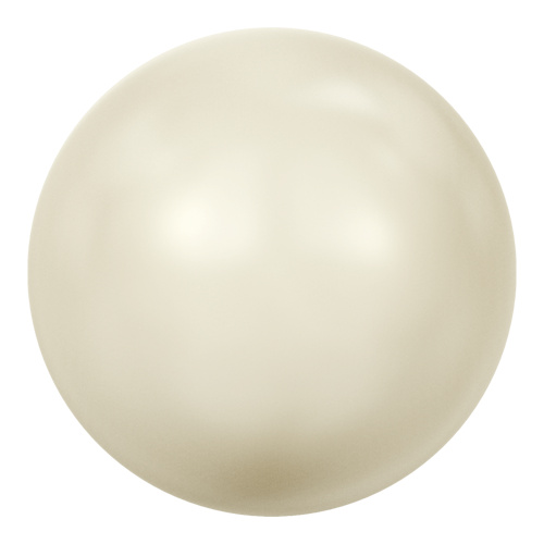 5811 - 12mm - Crystal Cream Pearl (001 620) - Round (Large Hole) Crystal Pearl