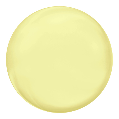 5860 - 10mm - Crystal Pastel Yellow Pearl (001 945) - Coin Crystal Pearl