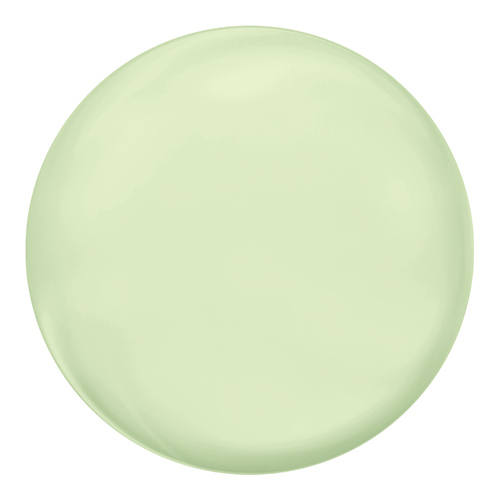 5860 - 12mm - Crystal Pastel Green Pearl (001 967) - Coin Crystal Pearl
