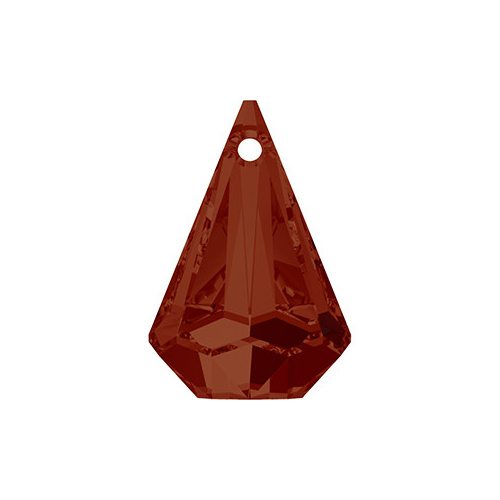 6022 - 24mm - Crystal Red Magma (001 REDM) - Raindrop Crystal Pendant