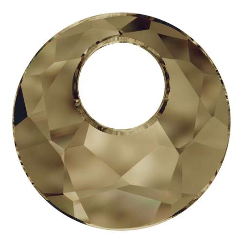 6041 - 18mm - Crystal Bronze Shade (001 BRSH) - Victory Crystal Pendant