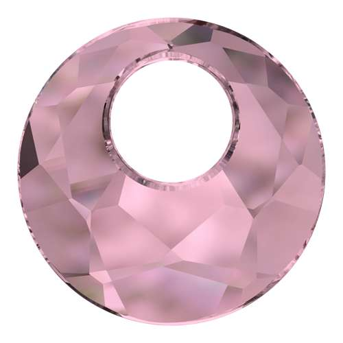 6041 - 28mm - Crystal Antique Pink (001 ANTP) - Victory Crystal Pendant