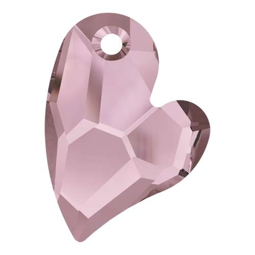 6261 - 17mm - Crystal Antique Pink (001 ANTP) - Devoted 2 U Heart - Designer Edition