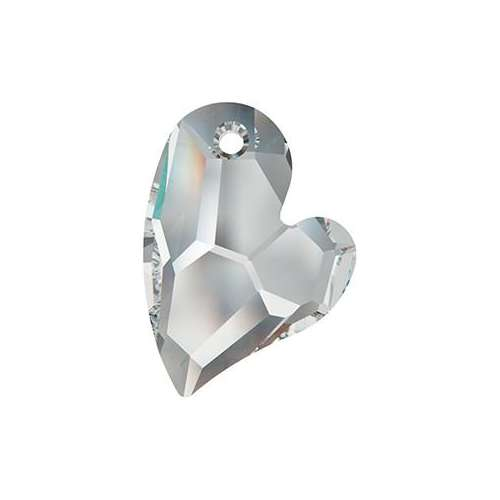 6261 - 17mm - Crystal Comet Argent Light V (001 CAV) - Devoted 2 U Heart - Designer Edition