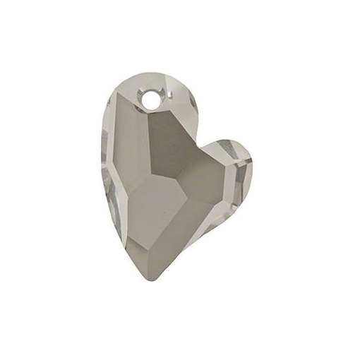 6261 - 17mm - Crystal Satin (001 SATIN) - Devoted 2 U Heart - Designer Edition