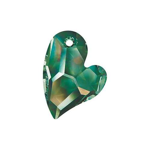 6261 - 17mm - Crystal Vitrail Medium (001 VM) - Devoted 2 U Heart - Designer Edition