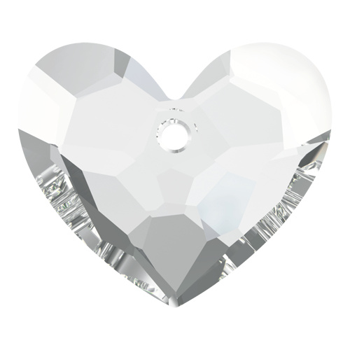 6264 - 18mm - Crystal (001) - Truly in Love Heart - Designer Edition