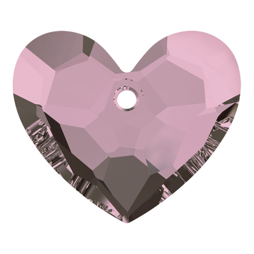 6264 - 28mm - Crystal Antique Pink (001 ANTP) - Truly in Love Heart - Designer Edition