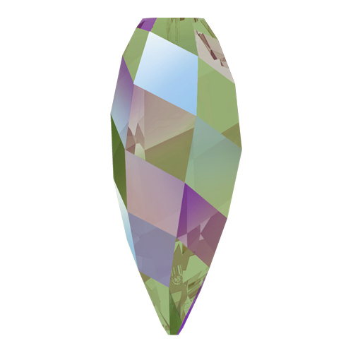 6540 - 12mm - Crystal Paradise Shine (001 PARSH) - Twisted Drop Crystal Pendant