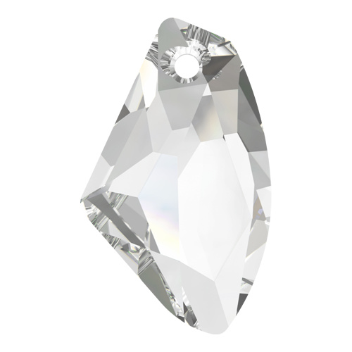 6656 - 27mm - Crystal (001 - Galactic Vertical Crystal Pendant