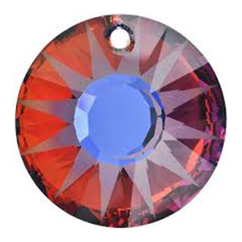 Sun Crystal Pendant Crystal Volcano (001 VOL) - 33mm