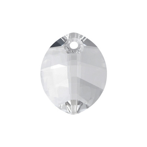 6734 - 23mm - Crystal (001) - Pure Leaf Crystal Pendant