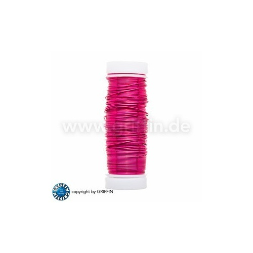 Pink FancyWire 0.50 mm, 50g ~ approx. 25m