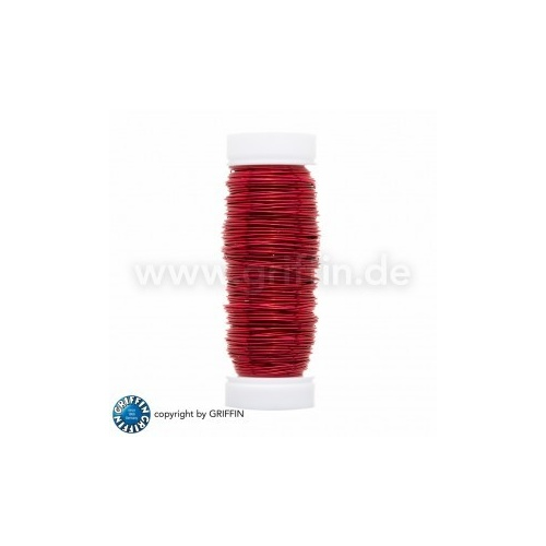 Red FancyWire 0.50 mm, 50g ~ approx. 25m