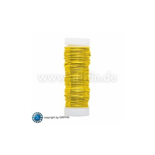 Yellow FancyWire 0.50 mm, 50g ~ approx. 25m