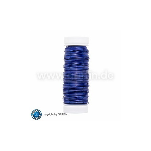 Blue FancyWire 0.50 mm, 50g ~ approx. 25m