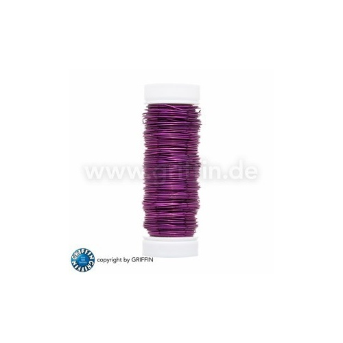 Violet FancyWire 0.50 mm, 50g ~ approx. 25m