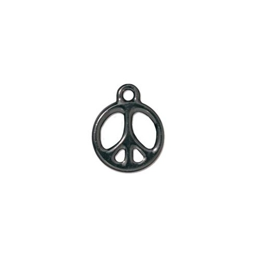 "Peace 5/8"" Drop - Black"