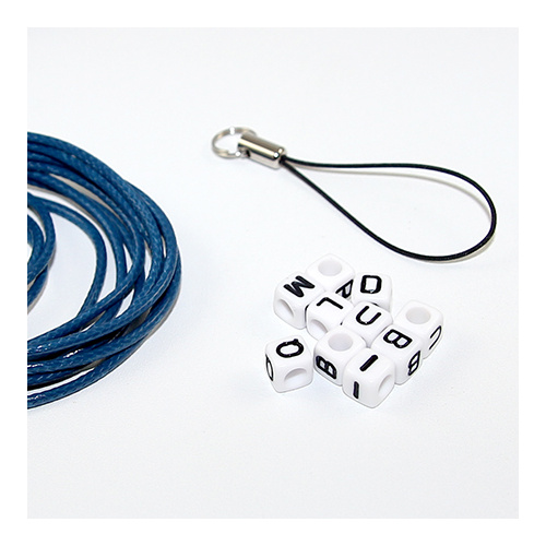 School Bag Name Tag Kit - Blue