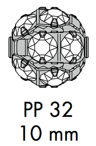 Swarovski 47 510 - 10mm Round Ball Configuration