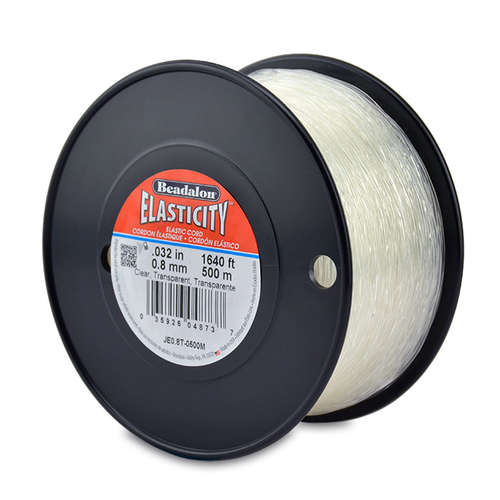 Elasticity - 0.8mm - 500m - Clear - JE0.8T-0500M