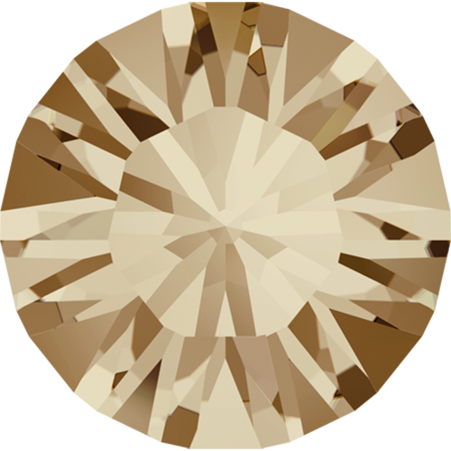 1028 - PP2 (0.90 – 1.00mm) - Crystal Golden Shadow F (001 GSHA) - Xilion Chaton Round Stone