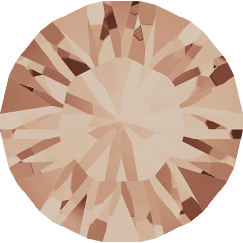 1028 - PP2 (0.90 – 1.00mm) - Light Peach F (362) - Xilion Chaton Round Stone