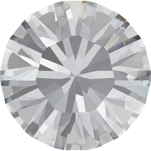 1028 - PP3 (1.00 – 1.10mm) - Crystal F (001) - Xilion Chaton Round Stone