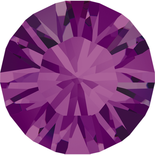 1028 - PP3 (1.00 – 1.10mm) - Amethyst F (204) - Xilion Chaton Round Stone
